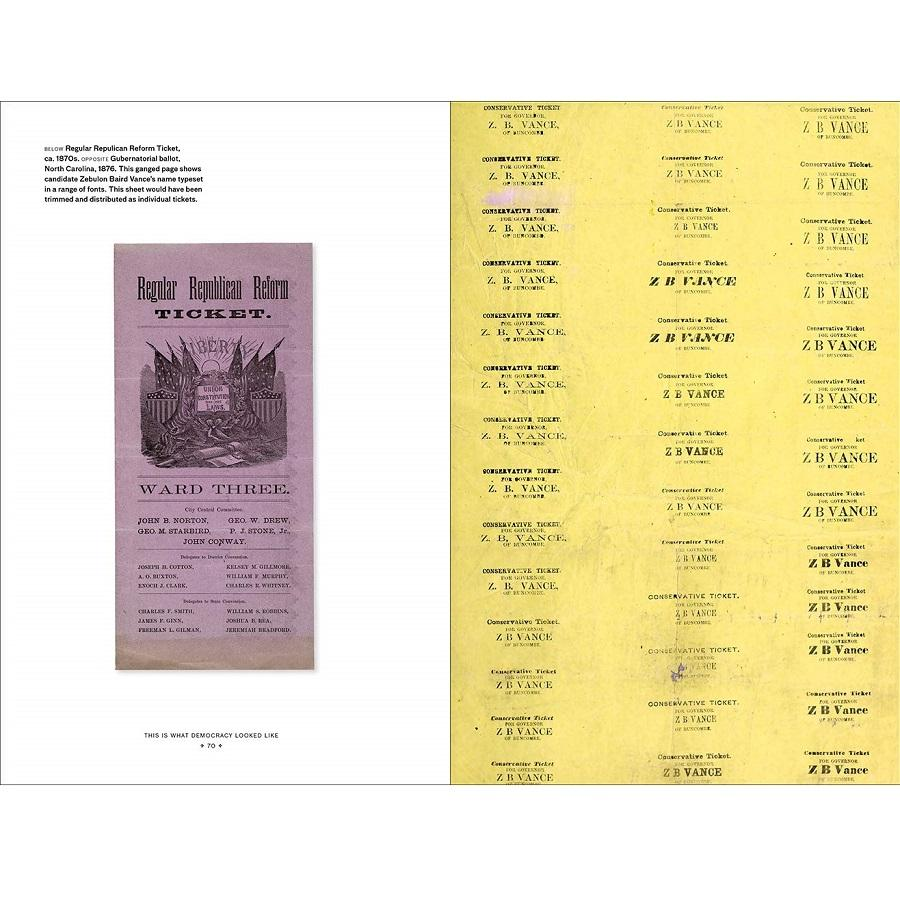 This is What Democracy Looked Like Book - A Visual History of the Printed Ballot