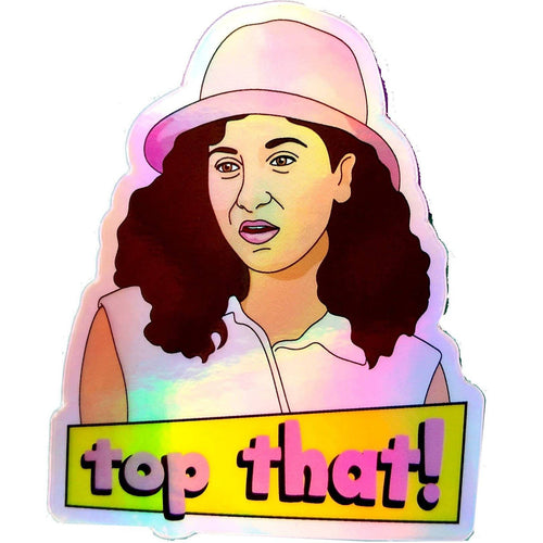 Top That Teen Witch Holographic Vinyl Sticker