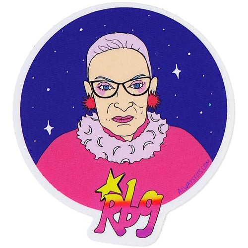 Truly Outrageous RBG Vinyl Sticker - COMING SOON!
