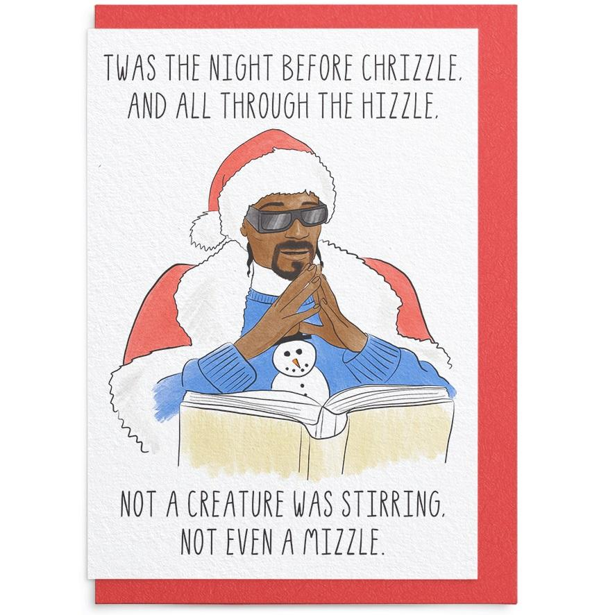 'Twas the Night Before Chrizzle Card