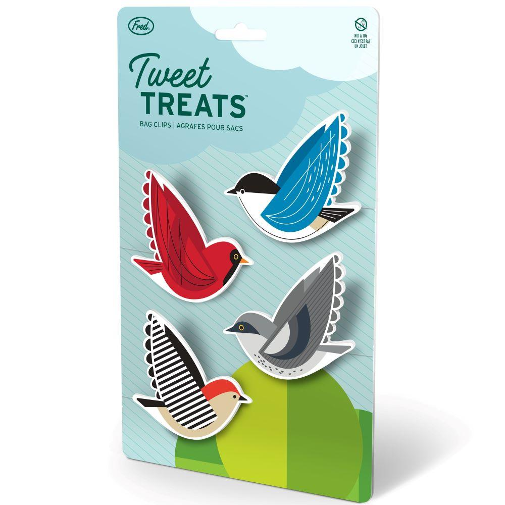 Tweet Treats Bird Bag Clips