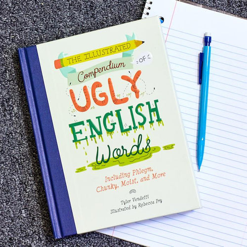 The Illustrated Compendium of Ugly English Words Book - Simon & Schuster - AlwaysFits.com