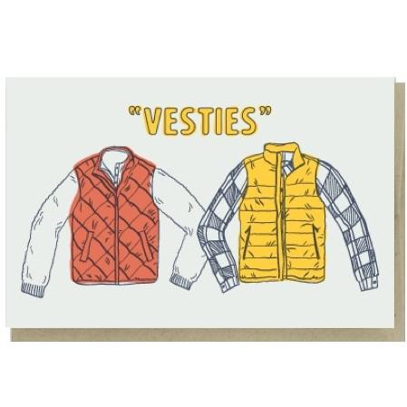 Vesties Besties Card