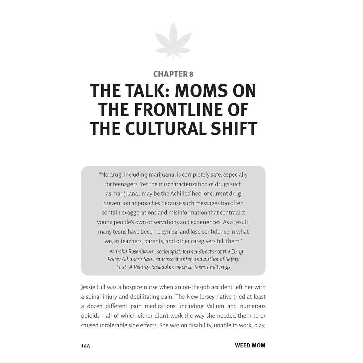Weed Mom Book - The Canna-Curious Woman's Guide