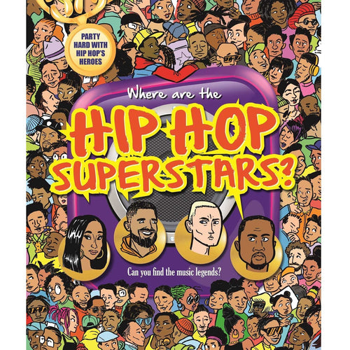 Where Are the Hip Hop Superstars? Search and Find Book