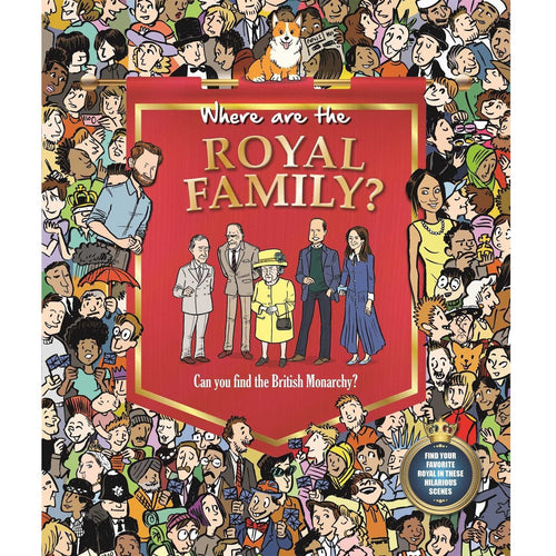 Where Are the Royal Family? Search and Find Book
