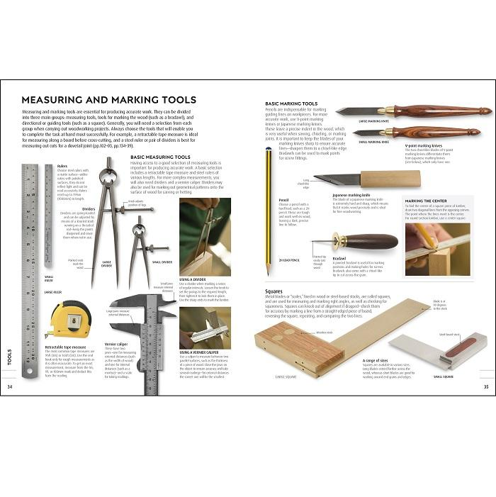 Woodworking Book - The Complete Step-by-Step Manual