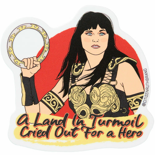 Xena Warrior Princess Vinyl Sticker