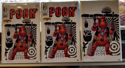 Counterpoint Comics Do You Pooh? #1 Legends Comics and Games Exclusive Variant Set of 3
