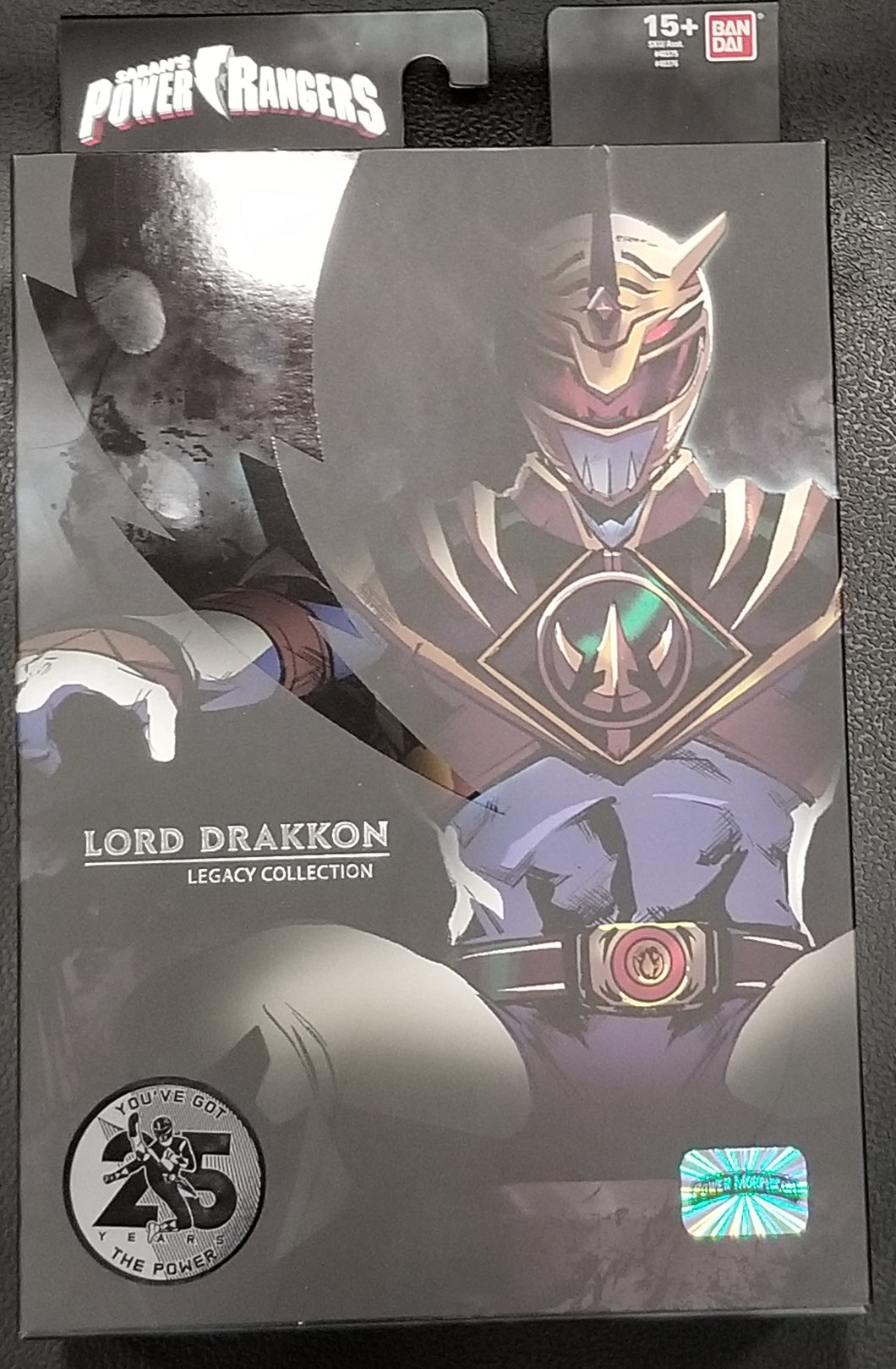 Power Rangers Lord Drakkon Action Figure Power Morphicon 2018 Exclusive