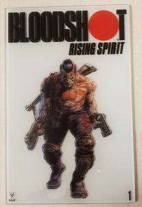 Valiant Bloodshot Rising Spirit #1 Glass Cover 1:250 Incentive Variant