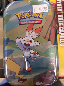 POKEMON: GALAR PALS MINI TIN - SCORBUNNY & PIKACHU