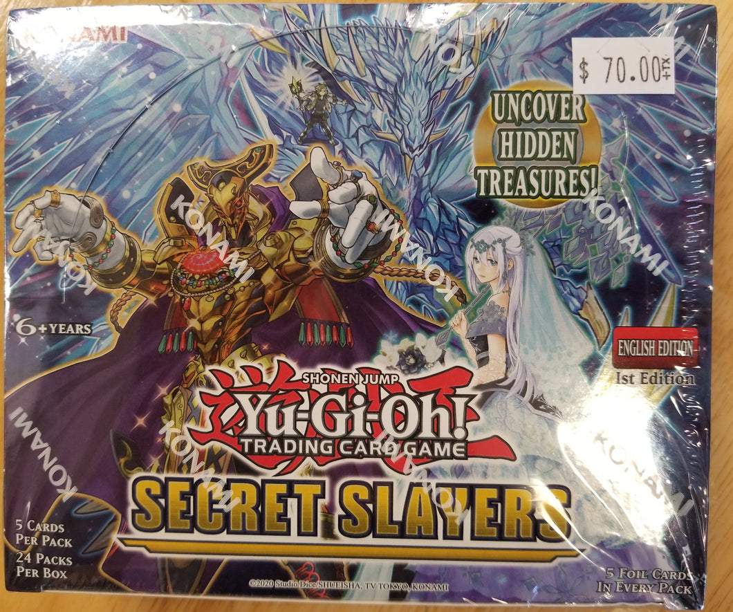Yu-Gi-Oh! Secret Slayers Booster Box