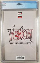 Load image into Gallery viewer, Venom #1 (2018) Quinones Virgin Variant Cover B CGC 9.6