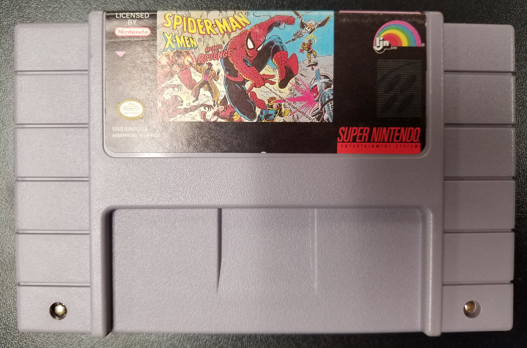 SNES Spider-Man X-Men: Arcade's Revenge by LJN