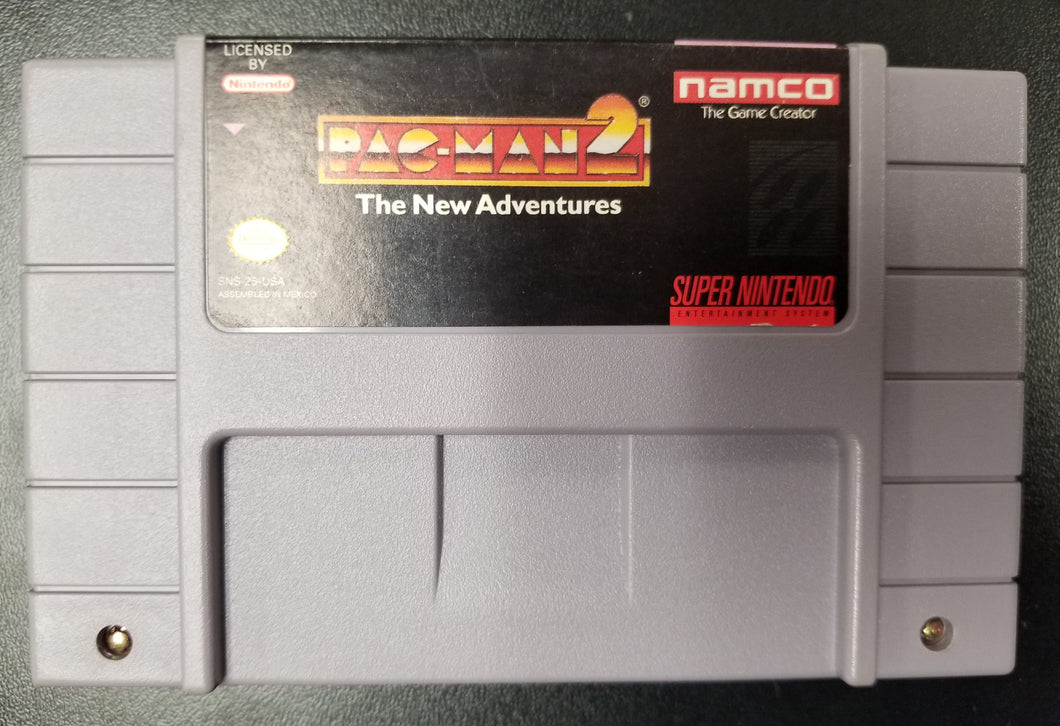SNES Pac-Man 2 The New Adventures by Namco
