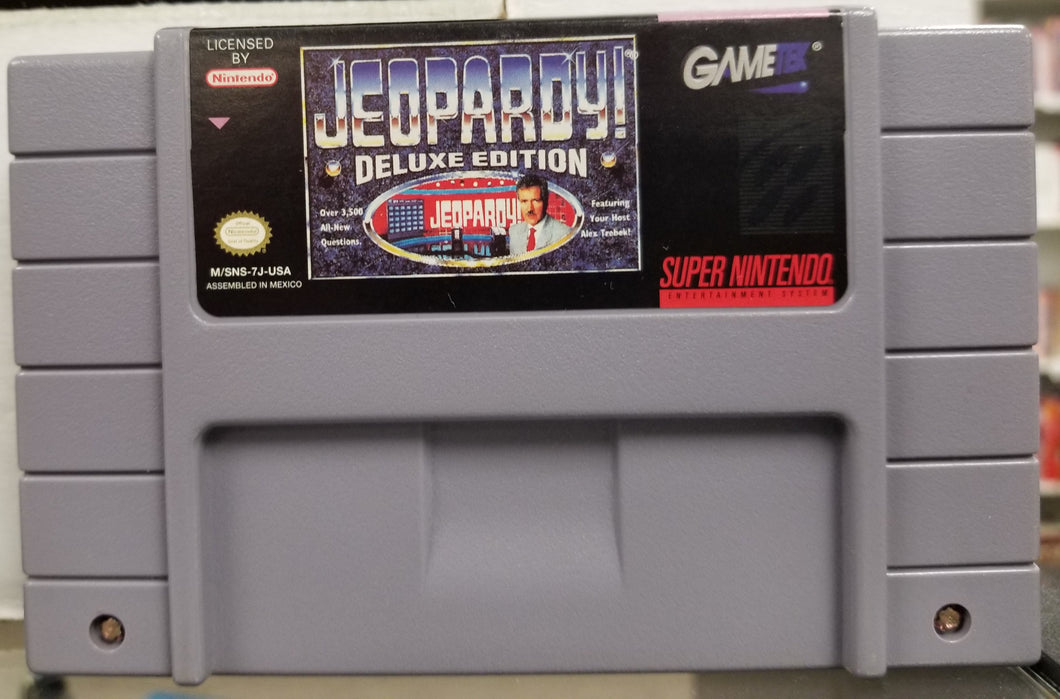 SNES Jeopardy Deluxe Edition by Gametek