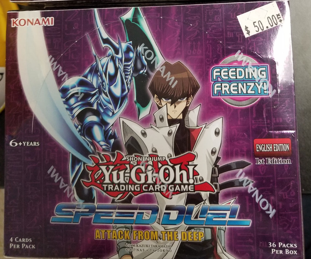 Yu-Gi-Oh Speed Duel Attack From the Deep Booster Box