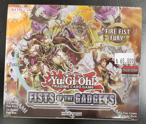 Yu-Gi-Oh Fists of the Gadgets Booster Box