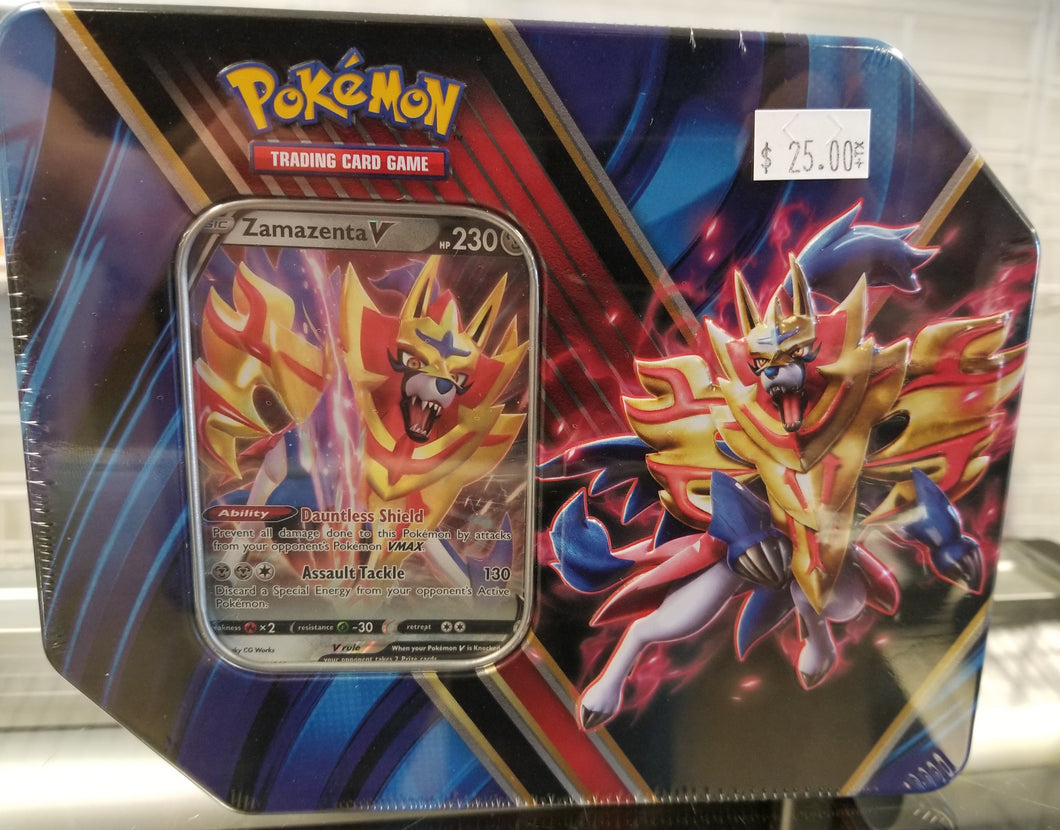 Pokemon Legends of Galar Tin Zamazenta