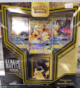 Presale Pokémon Pikachu & Zekrom-GX League Battle Deck