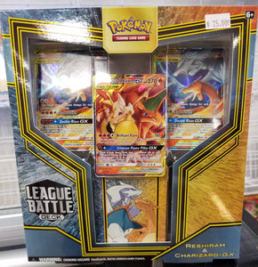 Pokémon Reshiram & Charizard-GX League Battle Deck