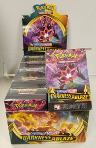 Pokemon Darkness Ablaze Prerelease Build and Battle Pack Only