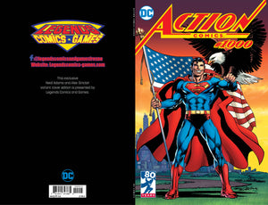 DC Action Comics #1000 Neal Adams/Legends Comics and Games Exclusive Variant