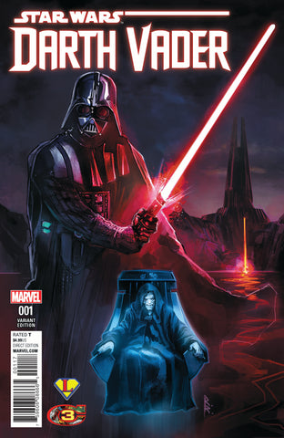 Star Wars Darth Vader 2017 #1 Rod Reis/Legends Comics and Games Variant