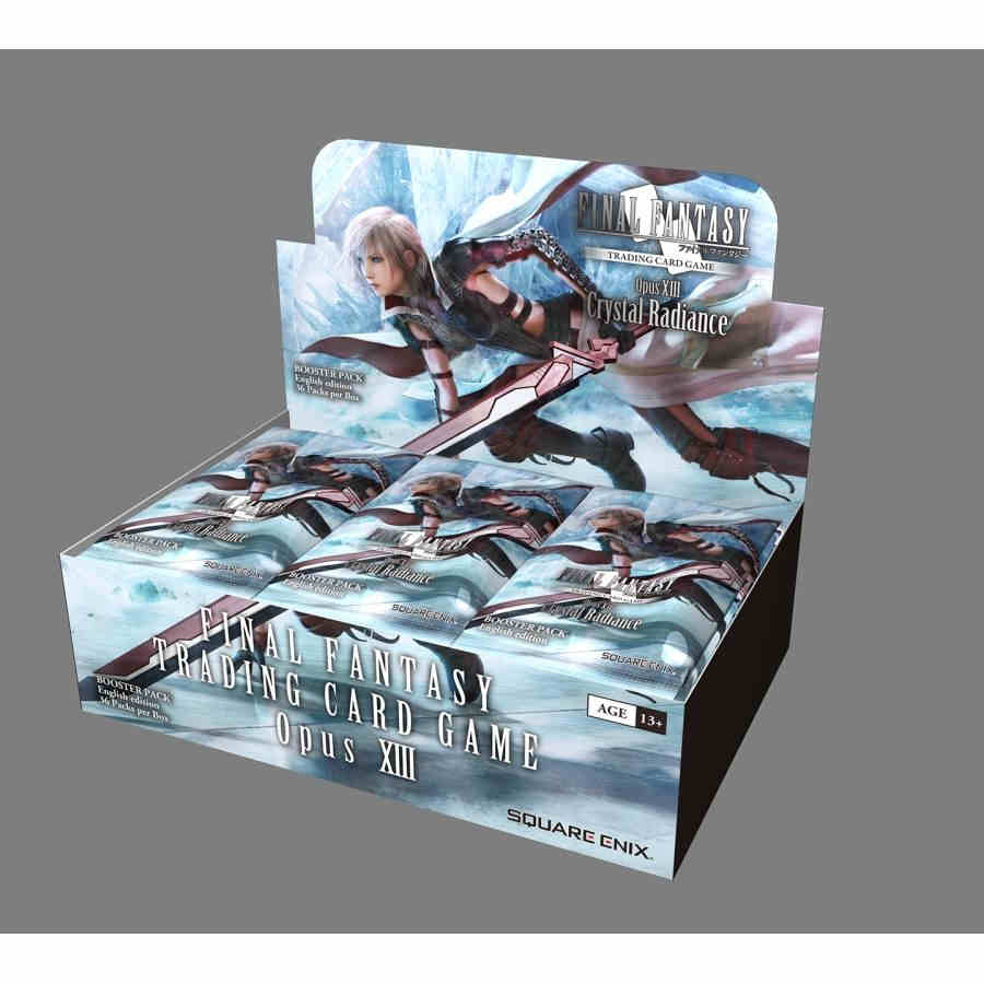 PRESALE Final Fantasy TCG Opus XIII Crystal Radiance Booster Box