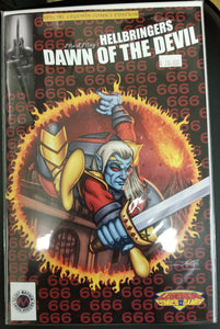 Mark May's Hellbringers Dawn of the Devil Special Legends Comics Edition Trade Dress Version