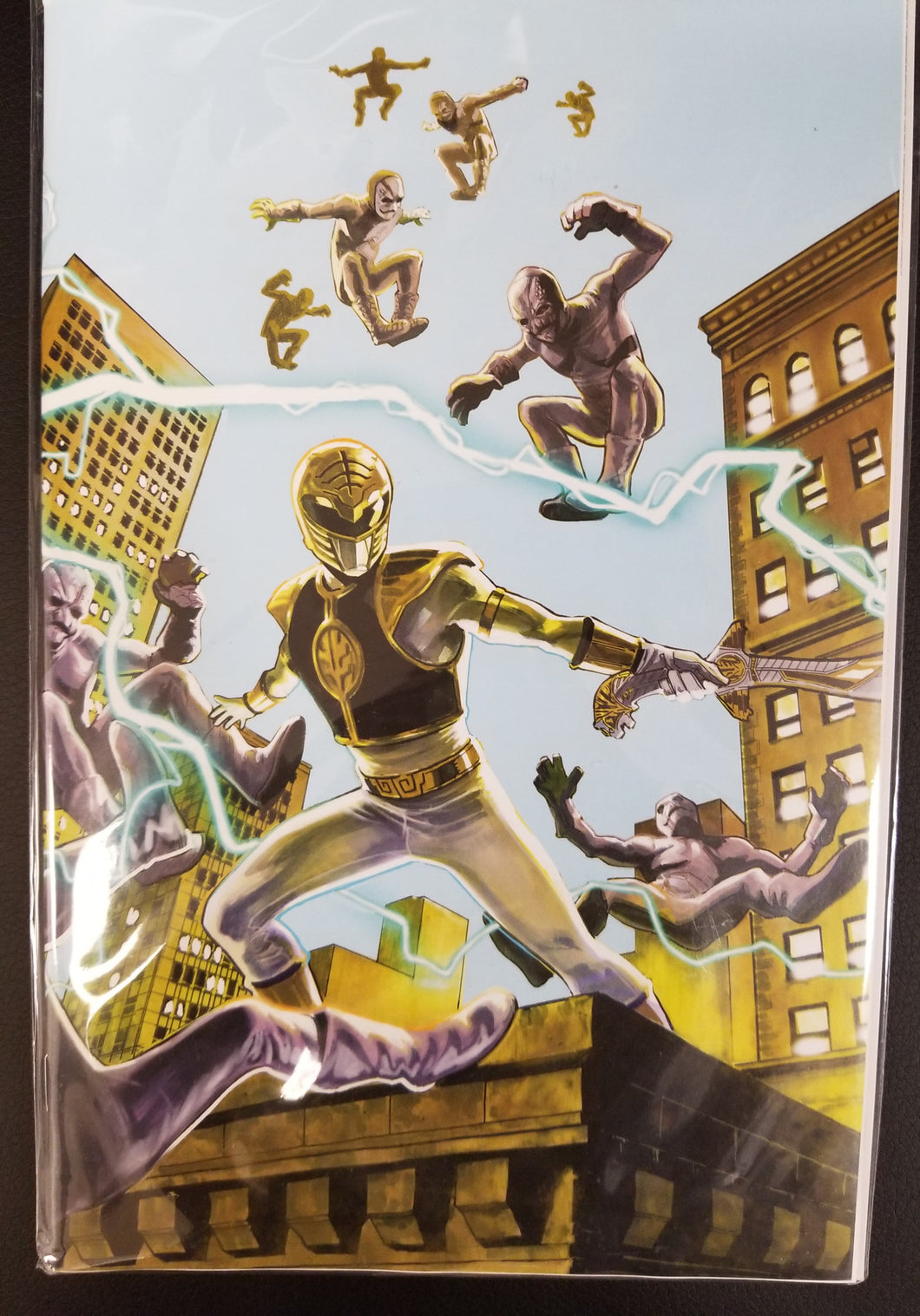 Mighty Morphin Power Rangers #44 Jolzar Collectibles Exclusive Journey into Mystery 83 Homage