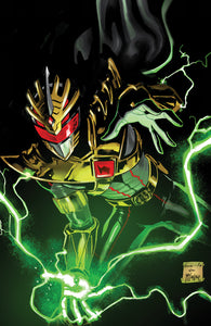 Mighty Morphin Power Rangers #43 Virgin Diego Galindo New York Comic Con Exclusive Variant