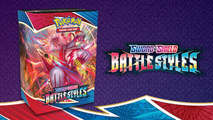 LIMIT 2 PLEASE READ Pokemon Battle Styles Prerelease Kit (Build and Battle Box + 3 Boosters)
