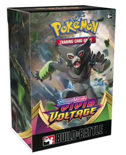 Pokemon Sword and Shield Vivid Voltage Prerelease Kit