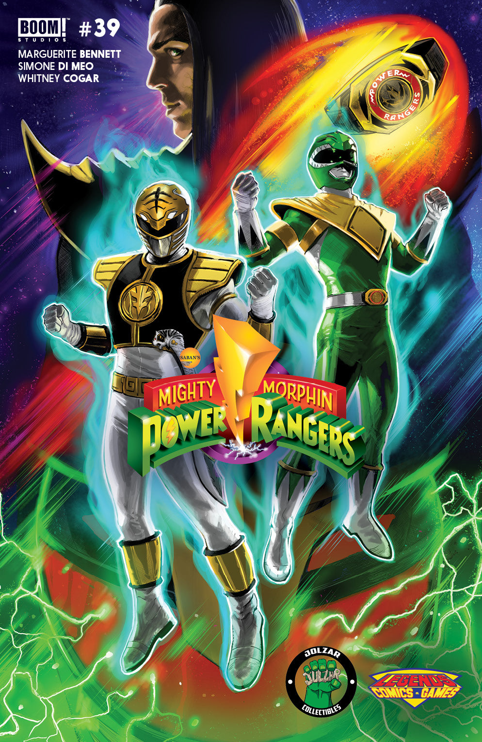 Mighty Morphin Power Rangers #39 Dragonball Broly Homage (Legends Exclusive Variant)
