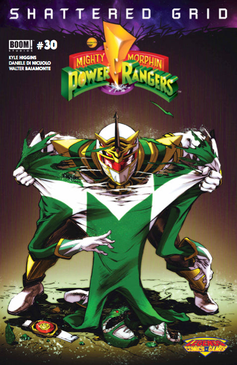 Boom! Mighty Morphin Power Rangers: SG #30 - Legends Comics & Games Fresno Exclusive Variant (ASM 238 HOMAGE)