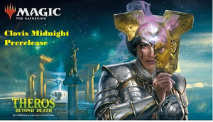 Magic Theros Beyond Death Midnight Prerelease Clovis