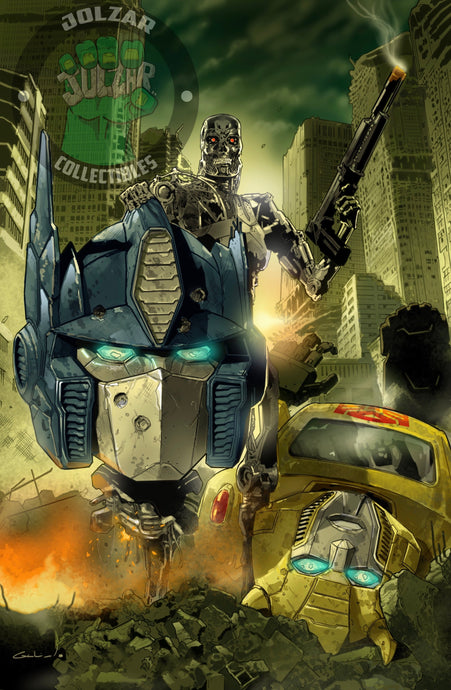 Transformers vs Terminator #1 Diego Galindo Exclusive Virgin Variant
