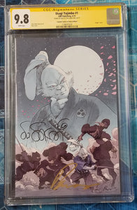 CGC SS 9.8 Usagi Yojimbo #1 Legends Exclusive Signed by Buzz and Stan Sakai