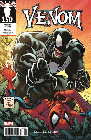 Marvel Venom #150 Todd Nauck/Legends Comics and Games Exclusive Variant