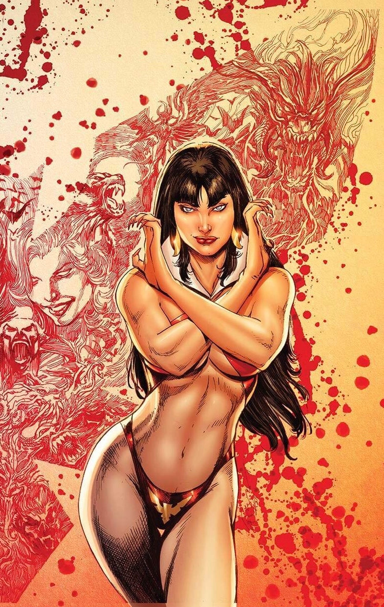 Vengeance of Vampirella #1 Virgin Legends Comics and Games/Buzz Exclusive Variant