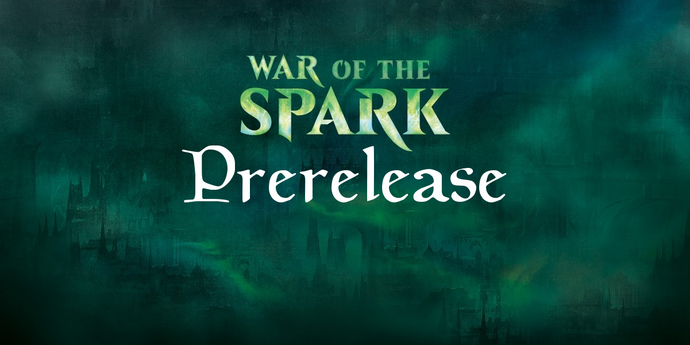 War of the Spark - SUNDAY PRE RELEASE (CLOVIS STORE)