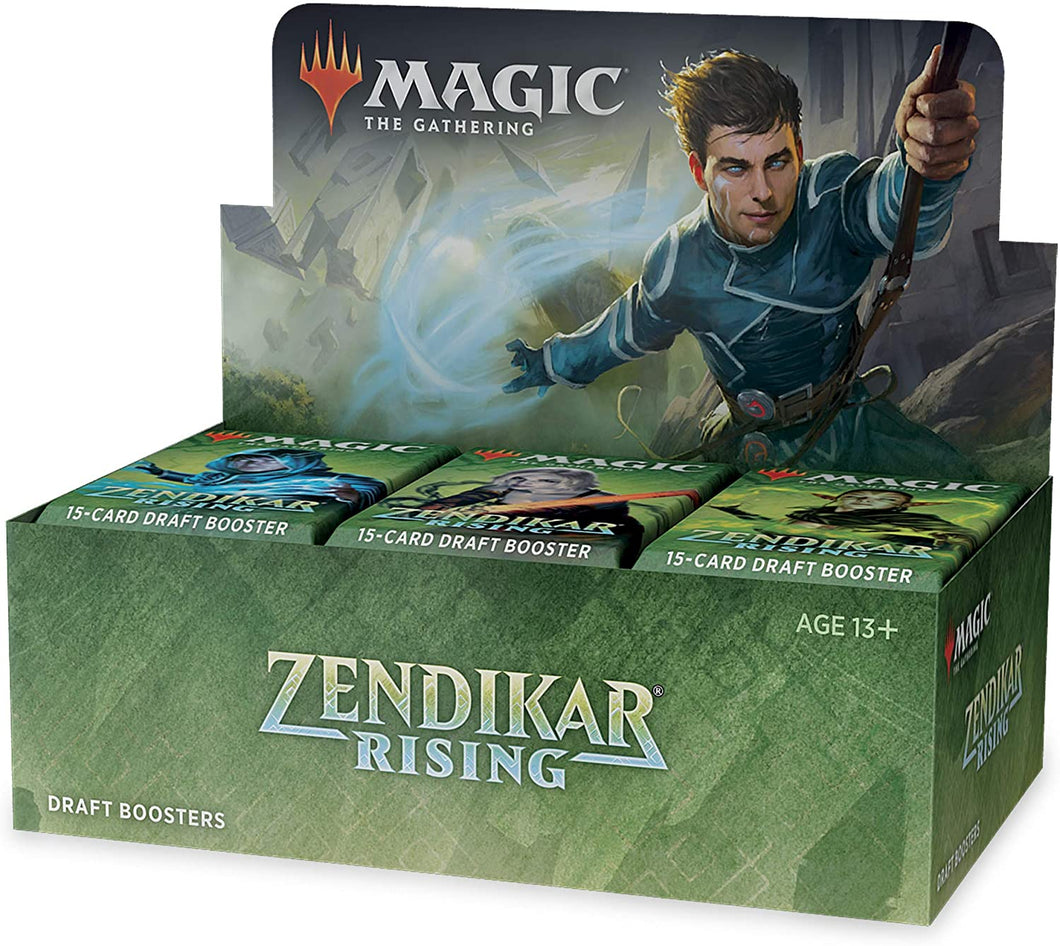 PRESALE MTG Magic The Gathering Zendikar Rising Draft Booster Box