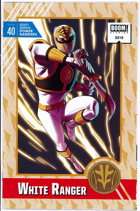 Mighty Morphin Power Rangers #40 1:20 Kris Anka Incentive Variant