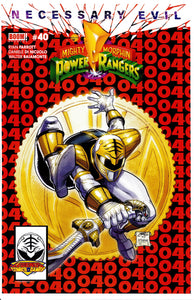 Mighty Morphin Power Rangers #40 Legends Comics and Games Variant Spider-Man 300 Homage