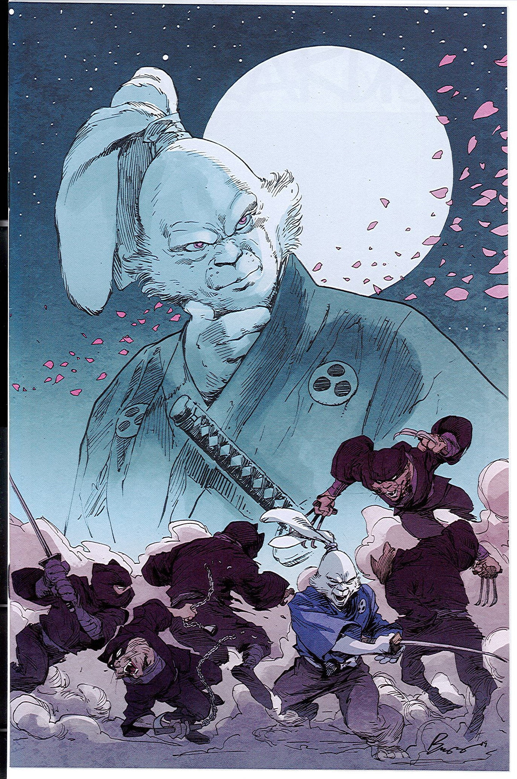 Usagi Yojimbo #1 Legends Comics & Games Fresno/Buzz Exclusive