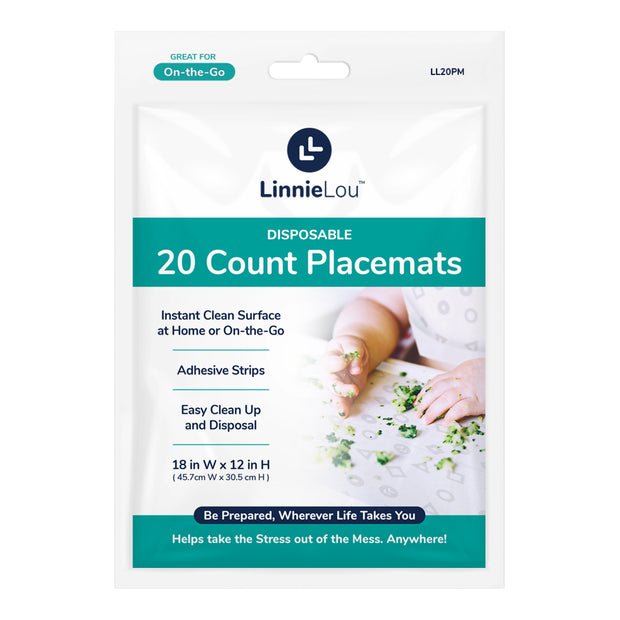 20 Count Disposable Placemat