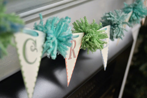 Photo of Pennant and Pom Pom Bunting