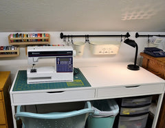 Photo of Craft Room Remodel Sewing Desk